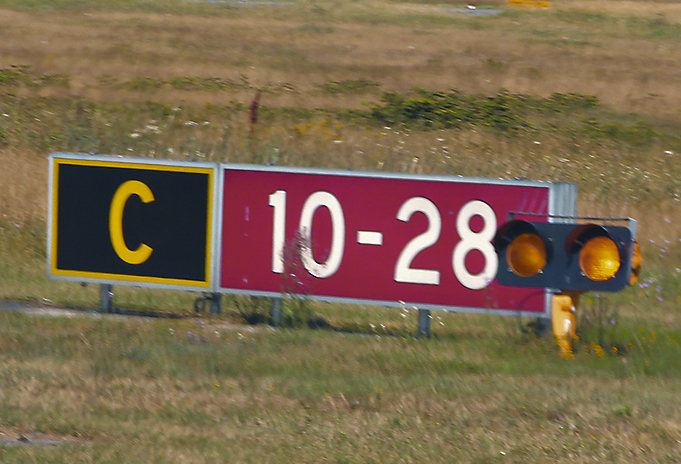 Taxiway Sign