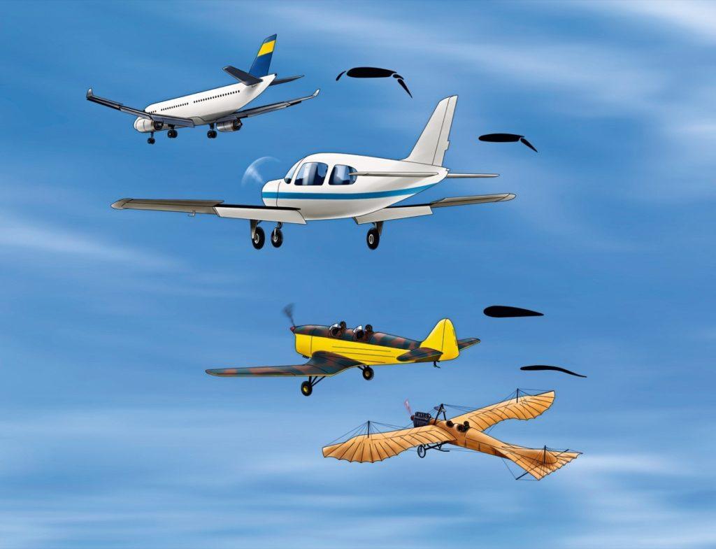 Schnelle Flugzeuge