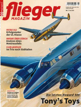 fliegermagazin Titel 5/2020