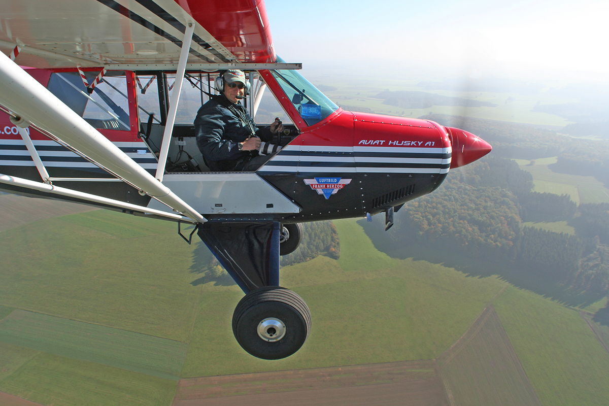 Luftfahrtfotograf Frank Herzog