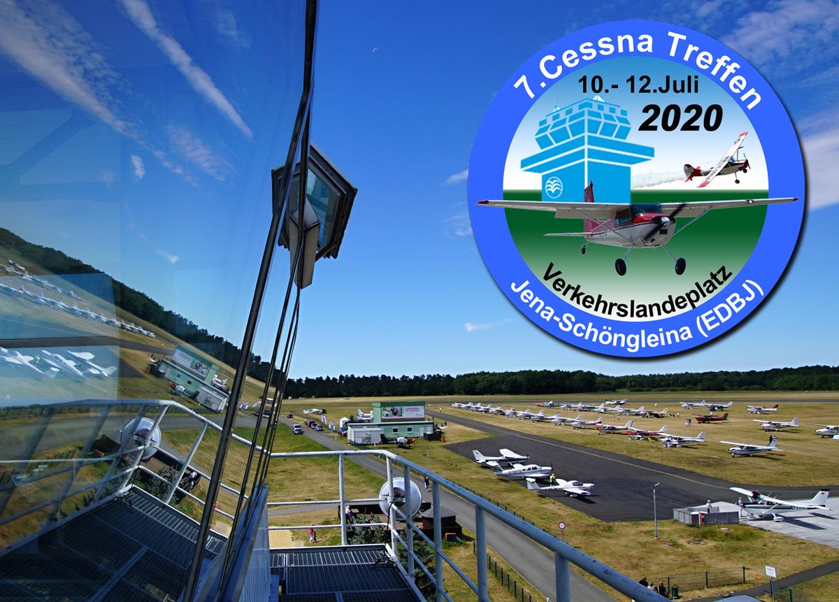 Cessna-Treffen 2020 in Jena-Schöngleina