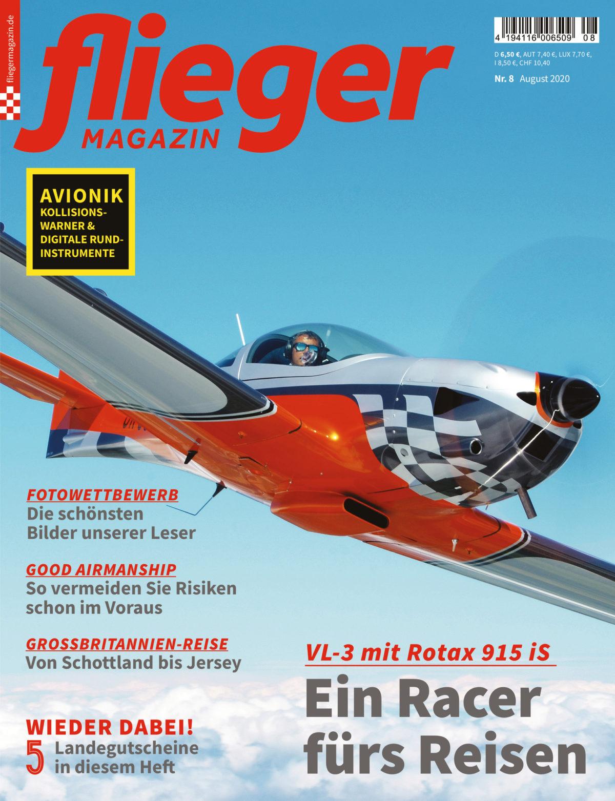 Ein Racer fürs Reisen: VL-3 mit Rotax 915 iS