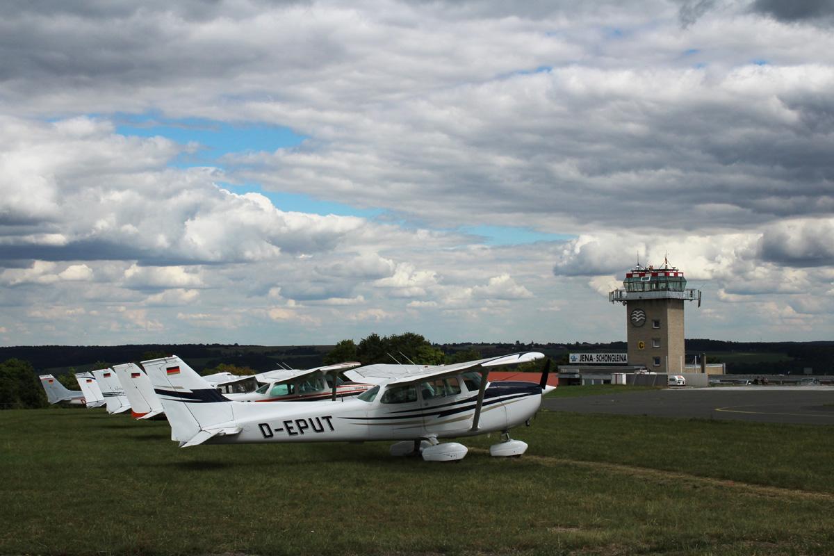 7. Cessna-Treffen in Jena-Schöngleina in Thüringen
