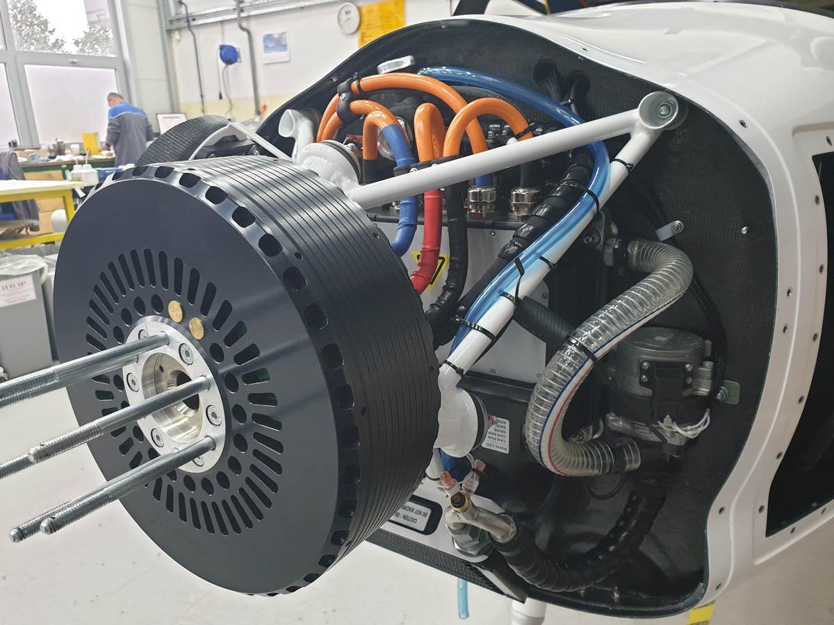 Pipistrel elektrischer Flugmotor