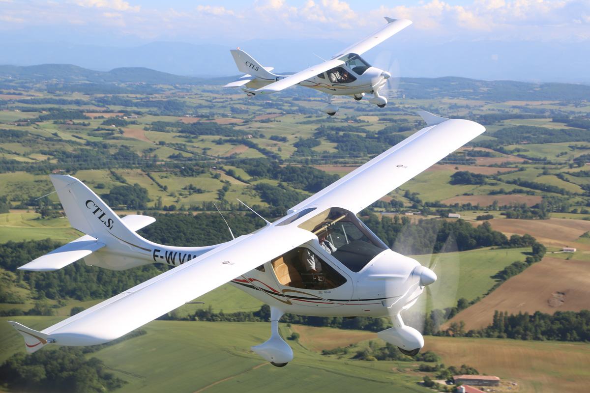 Flight Design CTLS mit 600 Kilo MTOM zugelassen