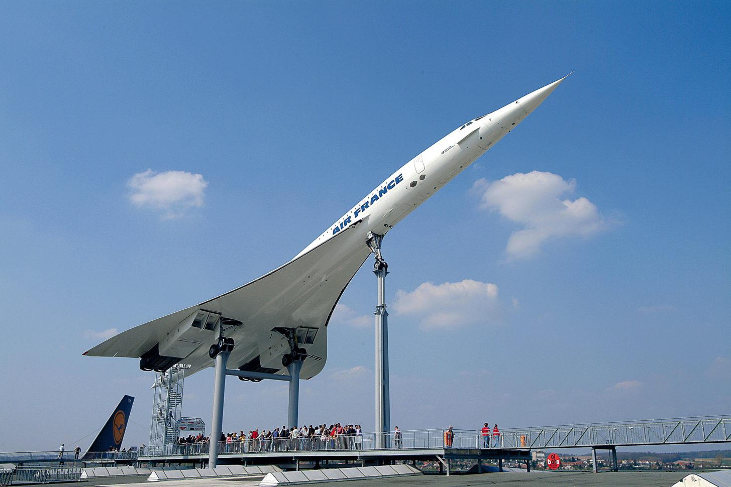 Absturz der Concorde – Dreharbeiten zur ARTE-Dokumentation im Technik Museum Sinsheim