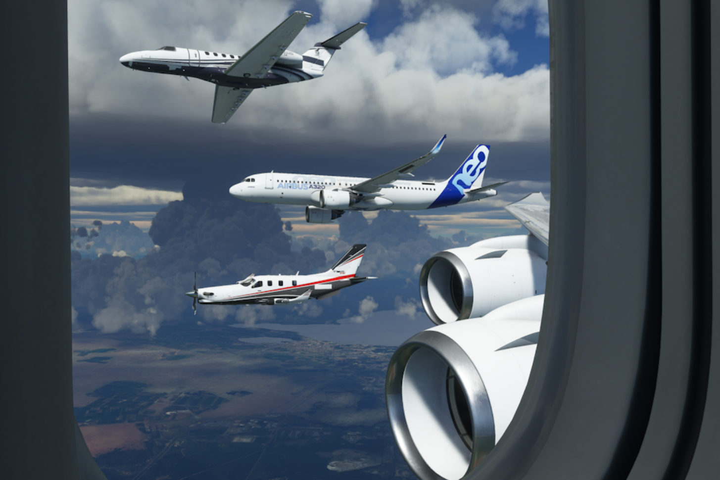 Microsoft Flight Simulator 747