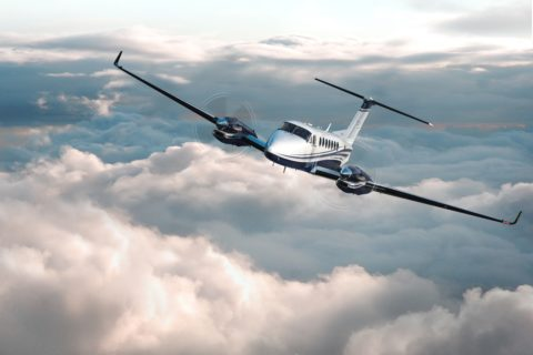 Beechcraft King Air 360/360ER mit Autothrottle