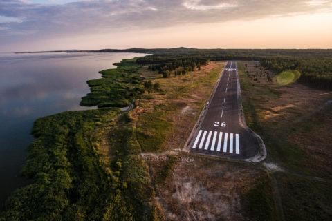 Neuer Flugplatz Nida auf der Kurischen Nehrung