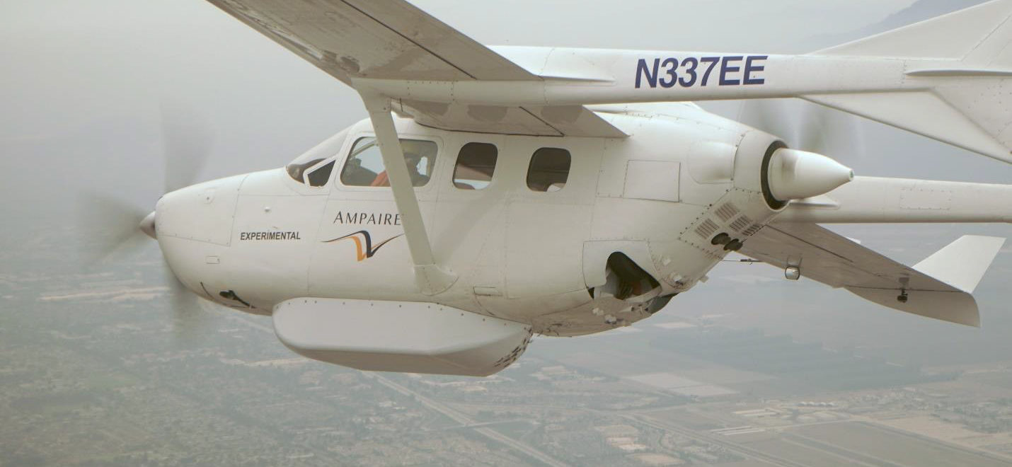 Ampaire will mit Hybrid-Skymaster in Hawaii fliegen