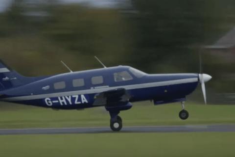 ZeroAvia fliegt Piper M-Klasse mit Wasserstoff