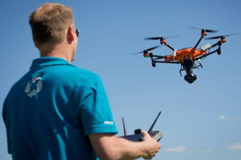 Thema Drohnen im neuen fliegermagazin Podcast