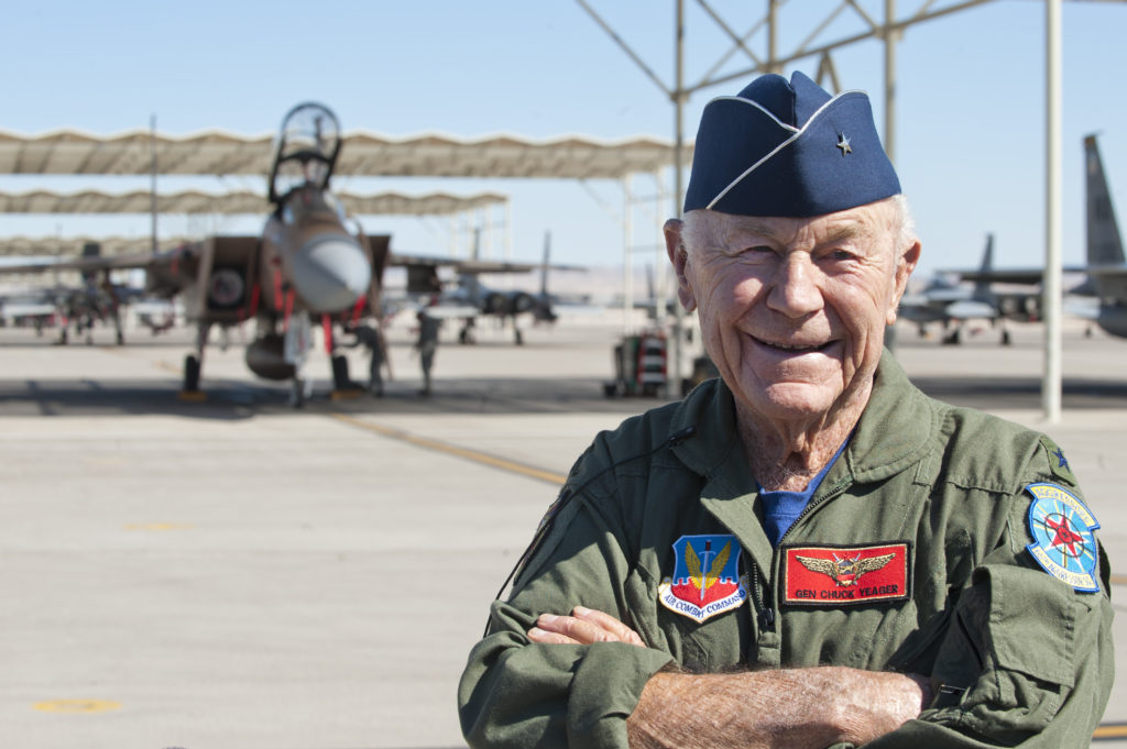 CHuck Yeager F-15