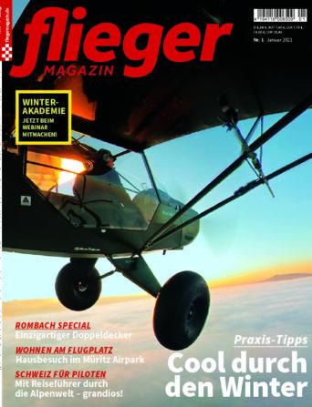 Titelbild fliegermagazin 1/2021