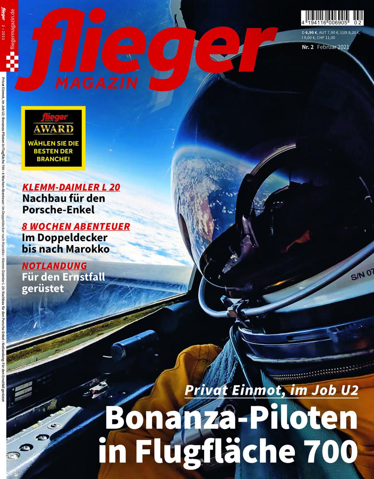 Privat Einmot, im Job U2: Bonanza-Piloten in Flugfläche 700