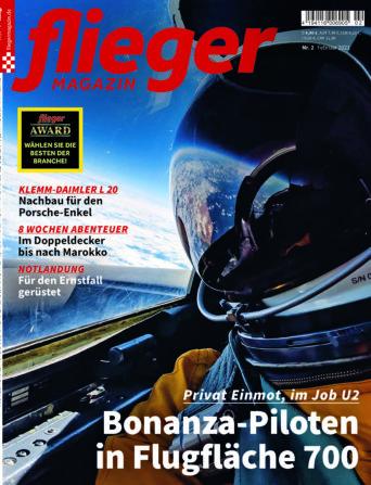 fliegermagazin Titelbild 2/2021
