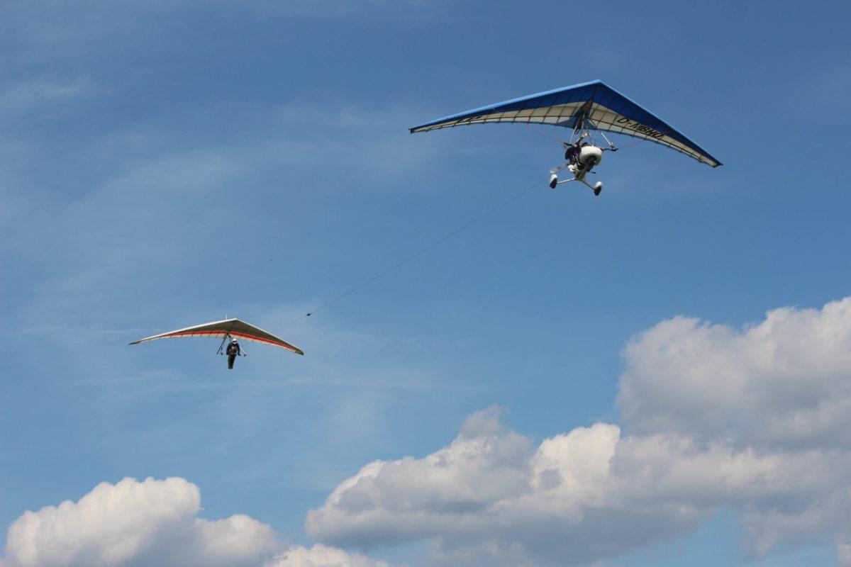 Drachenfliegen: UL-Schleppwoche am Dolmar