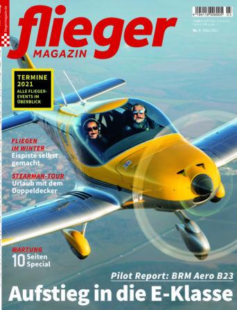 fliegermagazin 3/21 - Titelbild