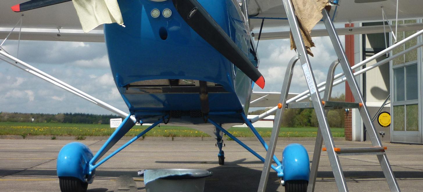 Webinar zur Flugzeugwäsche und -pflege