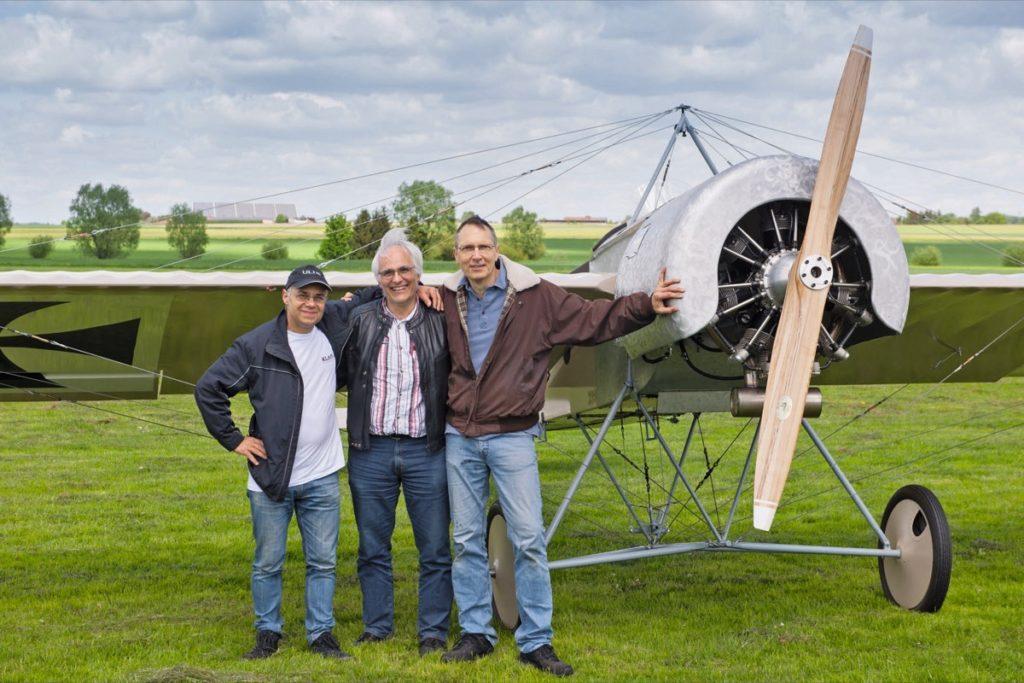 Erstflug Fokker