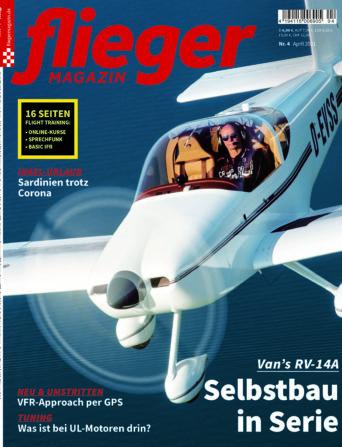 fliegermagazin Titelbild 4/2021