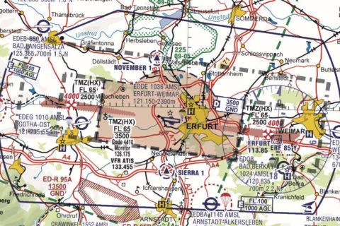 Die neuen ICAO-Karten 2021 sind da