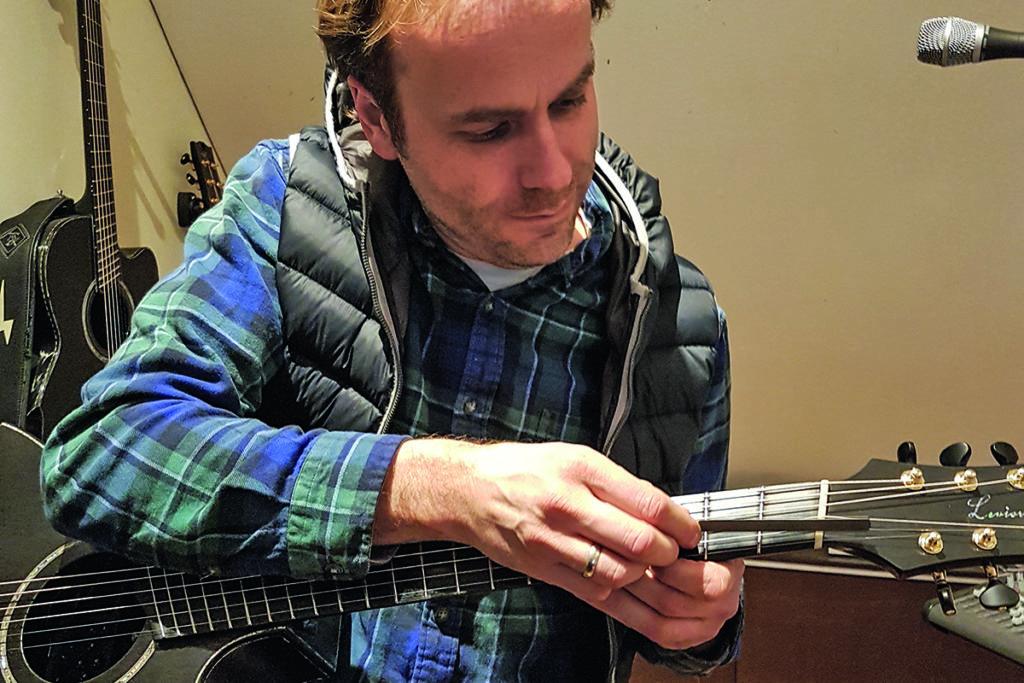 Gitarre aus CfK