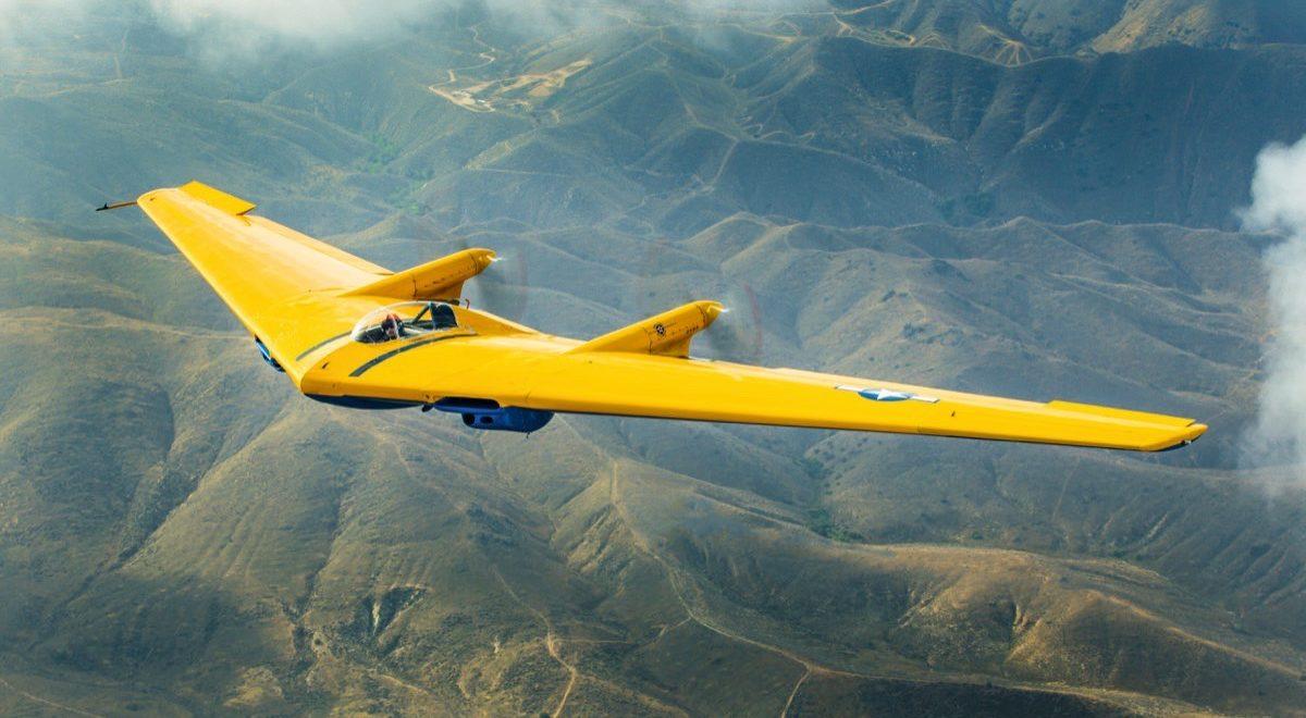 Flugzeugporträt: Northrop N-9MB