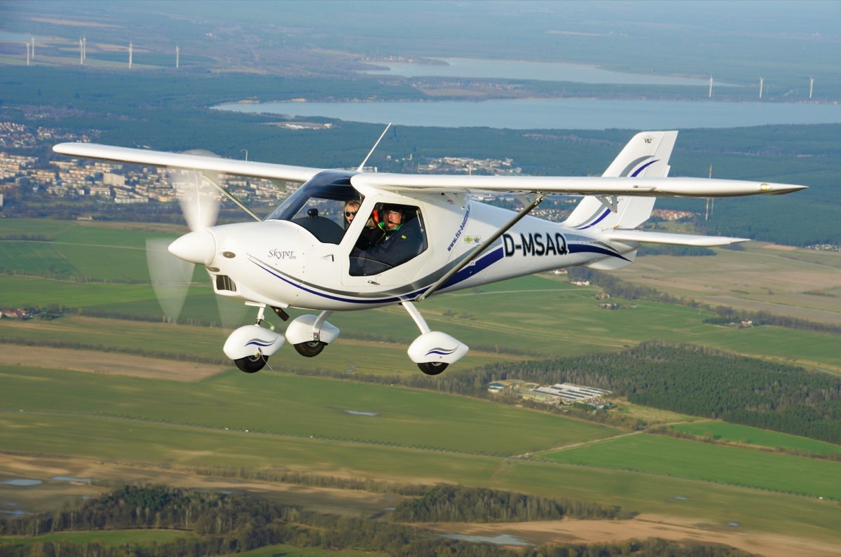 UL-Pilot-Report: Skyper GT9 von Tomark AERO