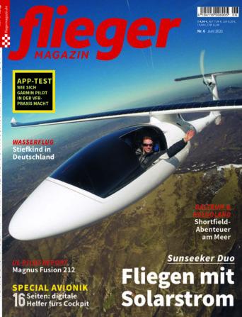 fliegermagazin 6/21 - Titelbild