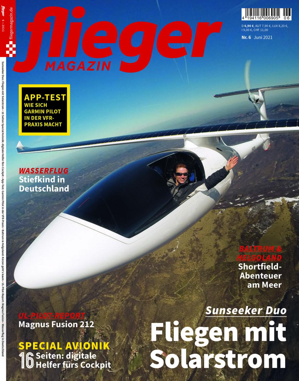 Sunseeker Duo: Fliegen mit Solarstrom