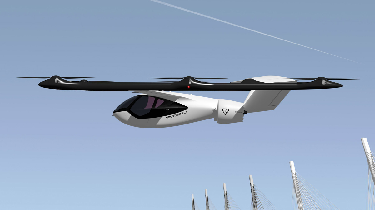 VoloConnect Volocopter Lufttaxi