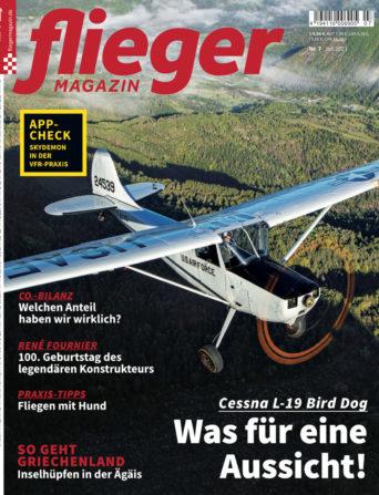 fliegermagazin Titel 7/2021
