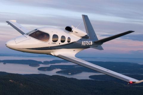 Cirrus G2+ Vision Jet jetzt mit mehr Power