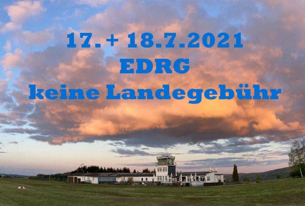 Flugplatz Idar-Oberstein EDRG Neueröffnung der Gaststätte im Juli 2021