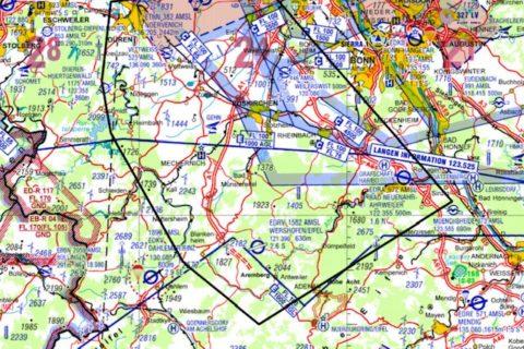 Dringend: Neue ED-R über den Flutgebieten