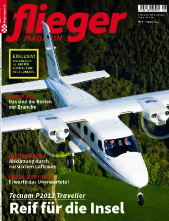 fliegermagazin 8/2021