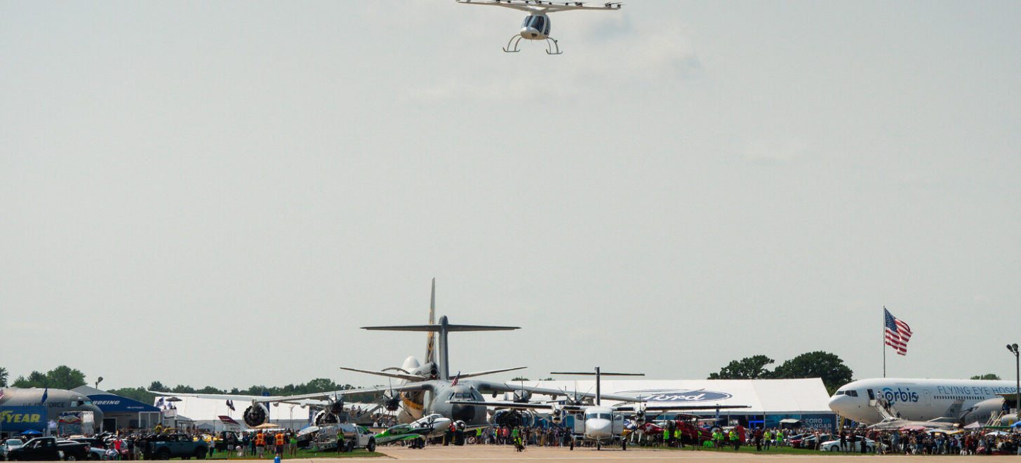 Volocopter fliegt in Oshkosh