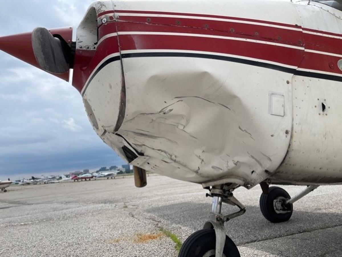 Drohnen-Kollision Cessna 172