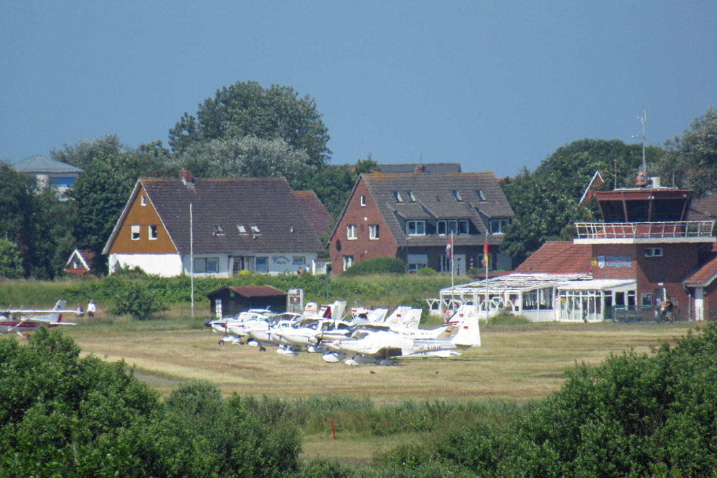Flugplatz Langeoog Ostfriesische Inseln