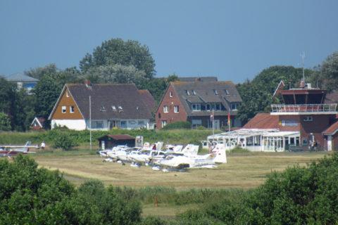 Flugplatz Langeoog: Geschlossen bis Anfang November