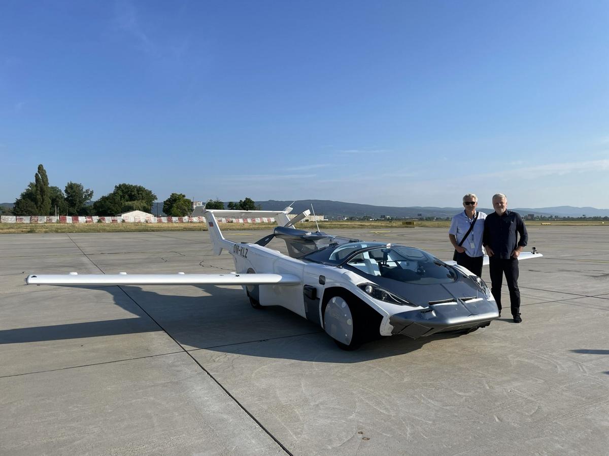 AirCar Klein Vision Slowakei Nitra fliegendes Auto