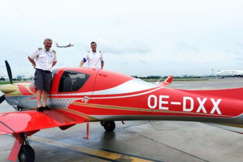 Auf Langstrecke: Diamond DA50 RG fliegt zur China AirShow
