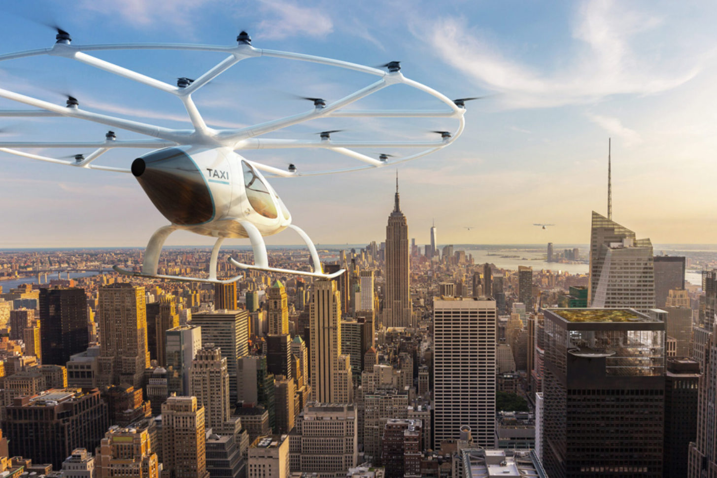 Volocopter China Lufttaxi