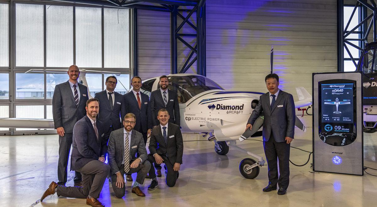 Diamond Aircraft: Vollelektrische DA40 als Trainingsflugzeug